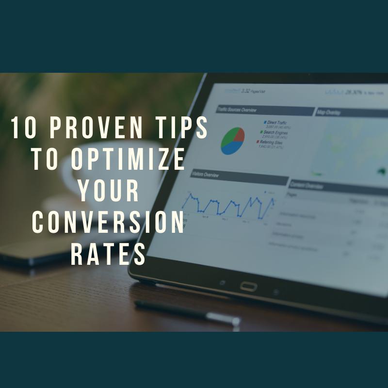 Optimize Your Conversion Rates