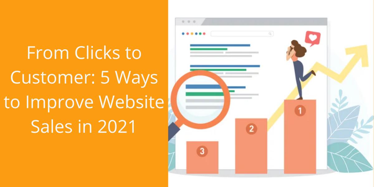Improve Website Sales